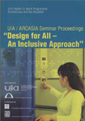 SINGAPORE 2001 - UIA / ARCASIA SEMINAR DESIGN FOR ALL poster